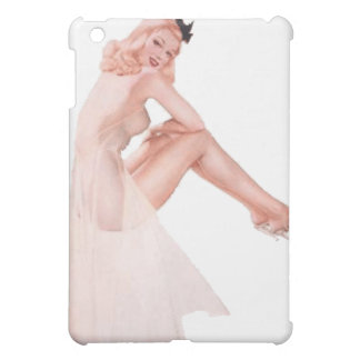 Vintage Lady in Pink Pin Up Girl iPad Mini Case