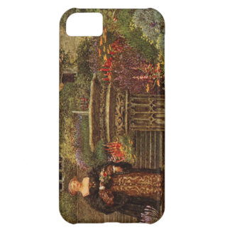 Vintage Lady in the Garden iPhone 5 Cover