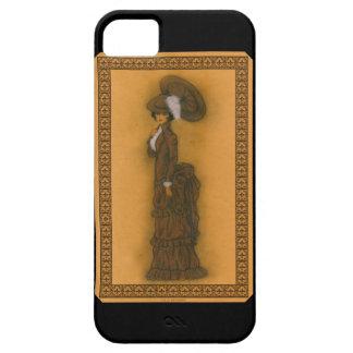 Vintage Lady iPhone SE/5/5s Case