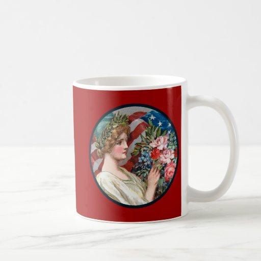 Vintage Lady Liberty_Mug Mug