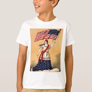 vintage lady liberty T-Shirt