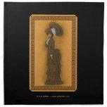 Vintage Lady Printed Napkins