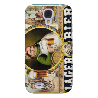 Vintage Lager Beer Advertisement Galaxy S4 Cover