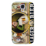Vintage Lager Beer Advertisement Galaxy S4 Covers