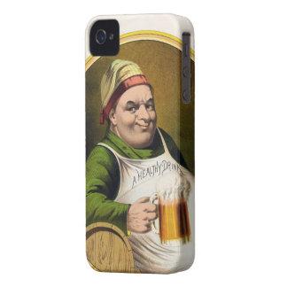 Vintage Lager Beer Advertisement iPhone 4 Case
