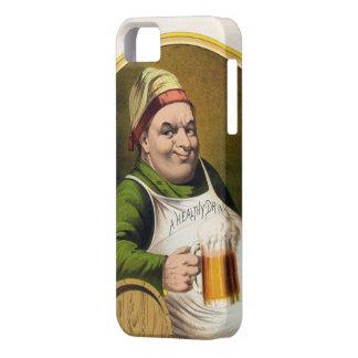 Vintage Lager Beer Advertisement iPhone SE/5/5s Case