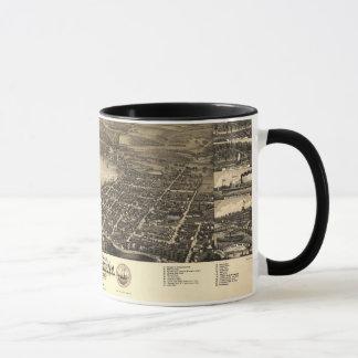 Vintage Lake Geneva Map Mug