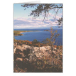 Vintage Lake Superior Shores Greeting Cards