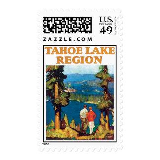 Vintage Lake Tahoe Nevada Postage Stamp