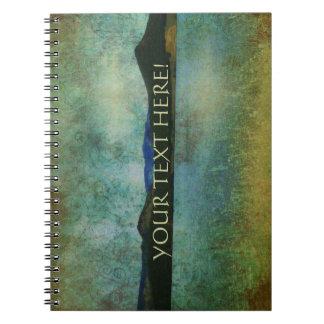 Vintage Lake View Spiral Notebooks