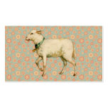 Vintage Lamb Art Business Card