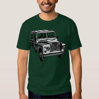 Vintage Land Rover illustration T Shirt