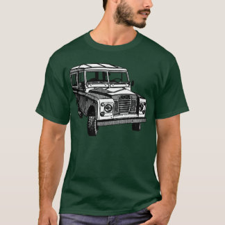Vintage Land Rover illustration T-Shirt