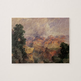 Vintage Landscape, Grand Canyon by Thomas Moran Jigsaw Puzzle