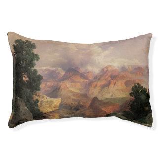 Vintage Landscape, Grand Canyon by Thomas Moran Small Dog Bed