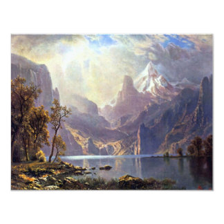 Vintage Landscape, Lake Tahoe by Albert Bierstadt Card