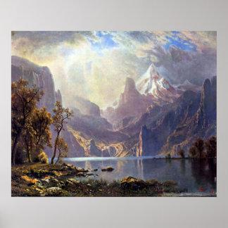 Vintage Landscape, Lake Tahoe by Albert Bierstadt Poster