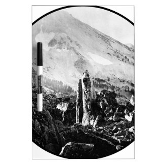 Vintage Landscape Photo Dry-Erase Board