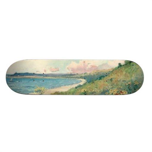 Vintage Landscape Skateboard