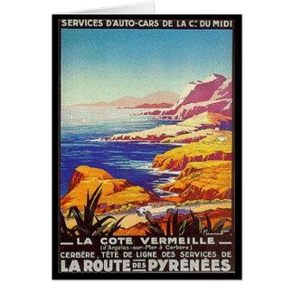 Vintage Languedoc-Rousillon, France - Card