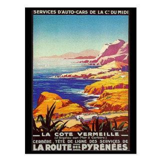 Vintage Languedoc-Rousillon, France - Postcard