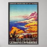 Vintage Languedoc-Rousillon, Francia - Poster