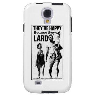 Vintage Lard Council Ad Galaxy S4 Case