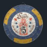 "Vintage Las Vegas Casino Poker Chip Game Dartboard With Darts<br><div class=""desc"">, </div>"