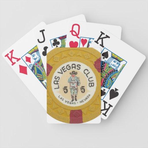 Vintage Las Vegas Casino Poker Chip Hotel Poker Deck