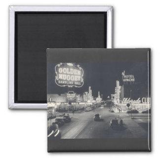 Vintage Las Vegas céntrico Iman De Frigorífico