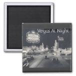 Vintage Las Vegas céntrico Imanes Para Frigoríficos
