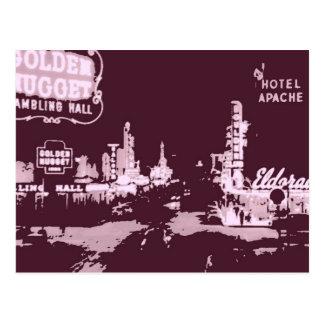 Vintage Las Vegas céntrico Postales