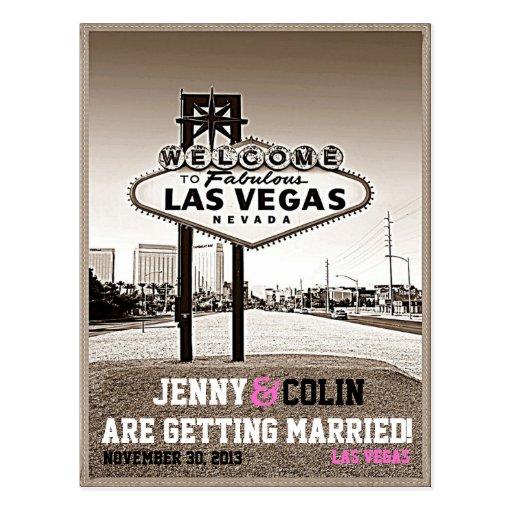 Vintage Las Vegas que casa reserva de la foto la f Postales