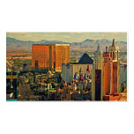 Vintage Las Vegas Skyline Double-Sided Standard Business Cards (Pack Of 100)
