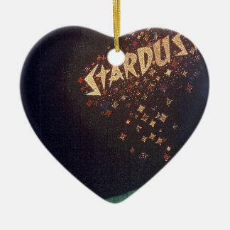 Vintage Las Vegas Stardust Hotel Ceramic Ornament