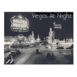 Vintage Las Vegas Strip Postcard