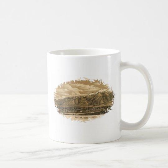 Vintage Late 1800's View of Ogden, Utah Coffee Mug