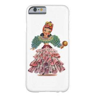 Vintage Latin-American Doll Barely There iPhone 6 Case