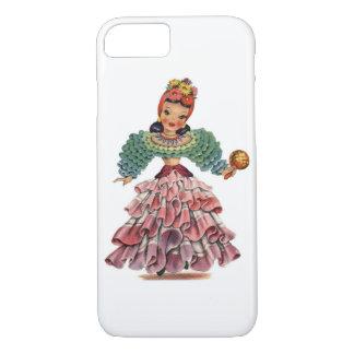 Vintage Latin-American Doll iPhone 7 Case