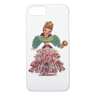Vintage Latin-American Doll iPhone 8/7 Case