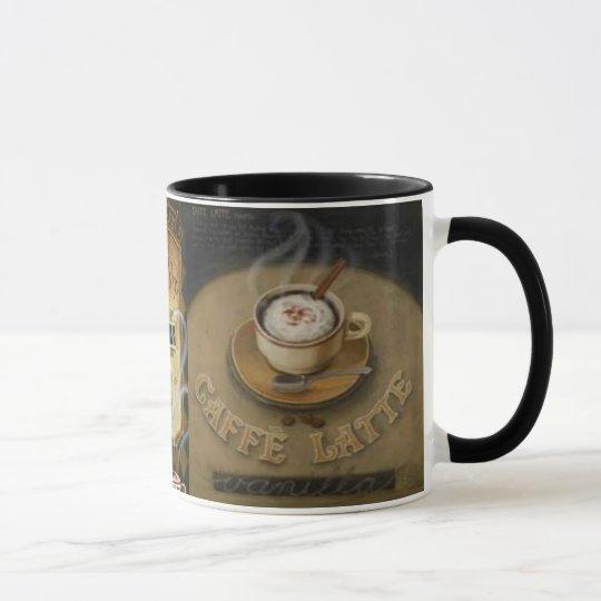 Vintage Latte Trio Masculine Mug
