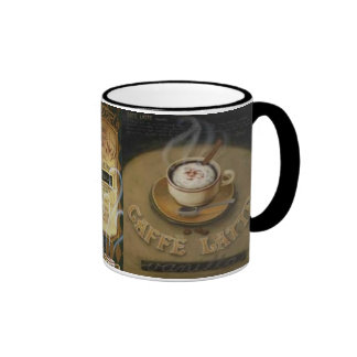 Vintage Latte Trio Masculine Mugs