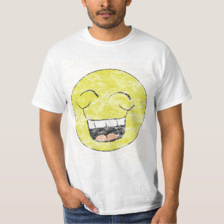 Vintage Laughing Smiley Shirt