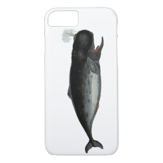 Vintage Laughing Whale iPhone 7 Case