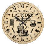 Vintage Laundry Room Clock