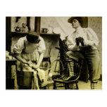Vintage Laundry scene Postcard