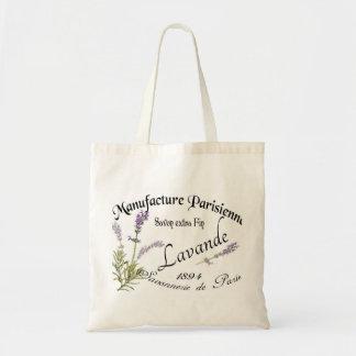 Vintage Lavender Einkaufstasche