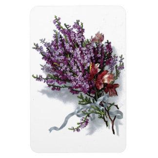 Vintage Lavender Bouquet Premium Flexi Magnet