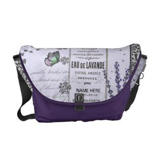 Vintage Lavender Collage bag