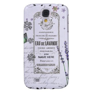 Vintage Lavender Collage Galaxy S4 Cover
